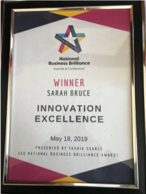 National Business Brilliance Award